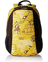 Wildcraft Rover yellow casual backpack (8903338010685)