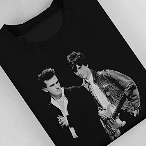 The Smiths Morrissey And Johnny Marr Together Live 1985 Women's Sweatshirt Black