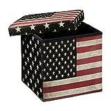 Relaxdays-Tabouret-pliant-coffre-de-rangement-pliable-banc-de-stockage-avec-couvercle-amovible-38-x-38-x-38-cm-pouf-en-similicuir-repose-pieds-table-appoint-motifs-tendances-USA