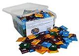 CAPTAIN PACK Party Box mit Ritter Sport Quadretties Täfelchen in