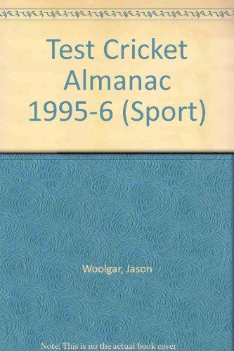 Test Cricket Almanac (Sport) por Jason Woolgar