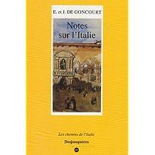 Notes sur l'Italie, 1855-1856