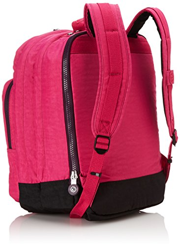 Kipling - COLLEGE - Large Backpack - Pink Berry C - (Pink)
