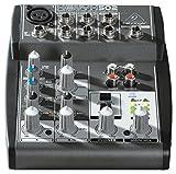 BEHRINGER XENYX 502 - mixer audio a 5 ingressi per home studio, live, karaoke, ecc.