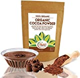 ORGANIC Cocoa Powder   Vegan Dark Chocolate Ingredient   Unsweetened and Tasty   Perfect for Baking   Smoothies and Protein Bars   200g   Nutri Superfoods