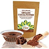 ORGANIC Cocoa Powder   Vegan Dark Chocolate Ingredient   Premium Quality Unsweetened   Antioxidant Rich Superfood   Highly Nutritious and Dairy free   Ideal for Baking and Smoothies   200g   by Nutri Superfoods