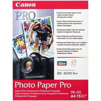 Canon PR-101 A4 Prof. Fotopapier 15 Bl.