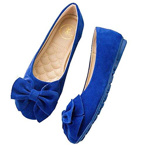 Hattie , Ballet femme Bleu