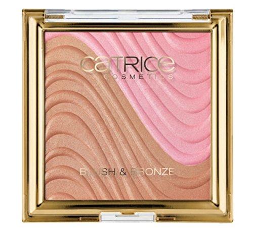 Catrice Cosmetics Sound of silence Nr. C01 Desert Flower Inhalt: 9,95g Puderrouge + Bronzer für einen natürlich strahlenden Teint. Rouge Blush & Bronzer - Blush Bronzer