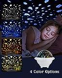Lampada Notturna per Bambini,Proiettore Oceanico e Proiettore Universo 3 IN 1, Luce Notturna per Bambini 7 Modalità Colore Proiettore Luce Notturna a LED per La Decorazione della Cameretta dei Bambini