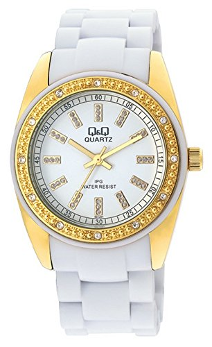 Q&Q Regular Analog White Dial Women's Watch - GQ13J001Y image