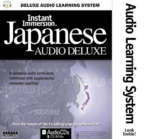 Title: Instant Immersion Japanese Audio Deluxe Instant Im