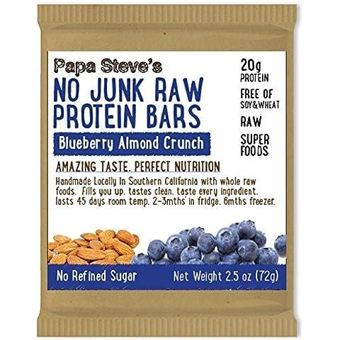 Papa Steve's No Junk Raw Protein Bars,
