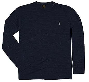 Ralph Lauren -  T-shirt - Maniche lunghe  - Uomo Blu screziato