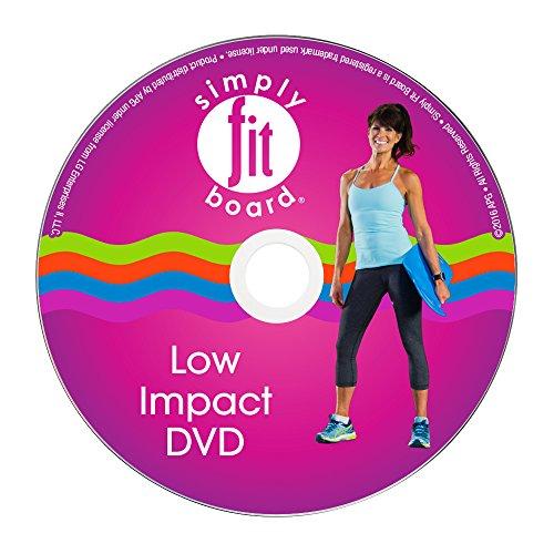 Einfach Fit Board–Low Impact Workout Kit, 6Workouts, DASS sind ideal für Senioren & Menschen nur Erste Schritte