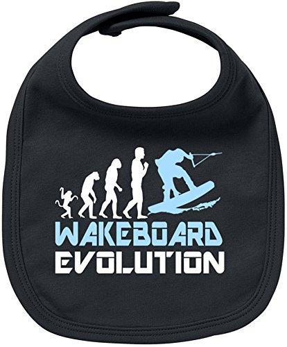 Volcom-print-shorts (EZYshirt® Wakeboard Evolution Baby Lätzchen Halstuch)