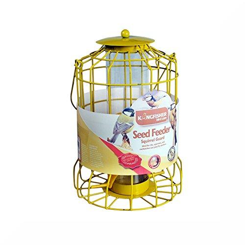 Vogelfutterhaus mit Schutz gegen Eichhörnchen und einem inspirierender Magneten