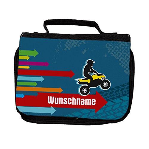 Striefchen® Kulturtasche - Quad - mit Gratis Aufdruck des Namens