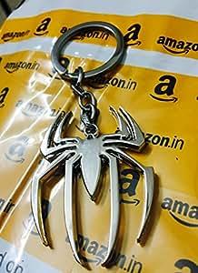 SmallAll Spider-Man Keychain (Silver)