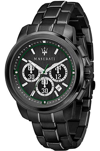 Maserati Polo Mens Analogue Quartz Watch with Stainless Steel Bracelet R8873637004