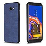 3294d7a15f9 SHUYIT Funda Samsung Galaxy J4+ Plus 2018, Ultrafina Cover Case con Textura  de Tela Suave TPU Silicona Caso Estuche Soft Silicona Protectora Carcasa  para ...