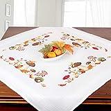 Stickpackung Pilze, komplettes vorgezeichnetes Kreuzstich Tischdecken Set zum...