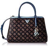 Guess Womens Satchels Bag, Brown/Blue - SP729106