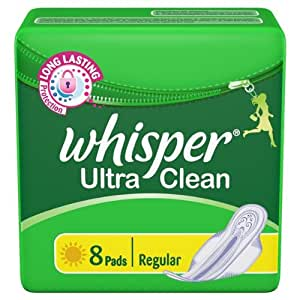 Whisper Ultra Clean - Regular (8 Pads)