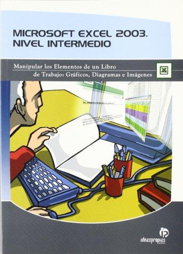 Microsoft Excel 2003. Nivel intermedio: Manipular los elementos de un libro de trabajo; gráficos, diagramas e imágenes (Informática) por Fernando Rodríguez Braga