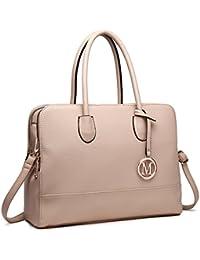 Miss Lulu Women Designer Shoulder Handbags Ladies Faux Leather Tote Bags 60b2e85410