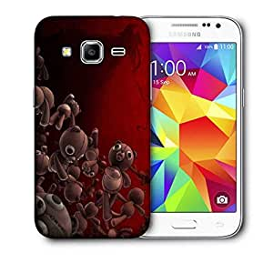 Snoogg Teddy Bears Printed Protective Phone Back Case Cover for Samsung Galaxy CORE Prime