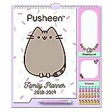 Grupo Erik Editores CPF1806 Calendario da Muro Familiare Pusheen the Cat family planner 2019