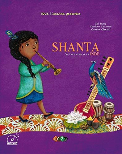 Shanta, voyage musical en Inde (1CD audio MP3) par Collectif