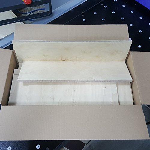 9-10kg Reste Gemisch Multiplexplatte 6mm-15mm Sperrholz Platten Zuschnitt Birke Multiplex Holz Bastler