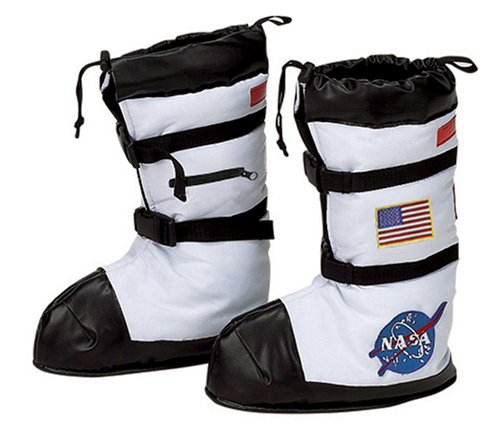Astronaut Kind Stiefel Covers - Wei- - Klein ()