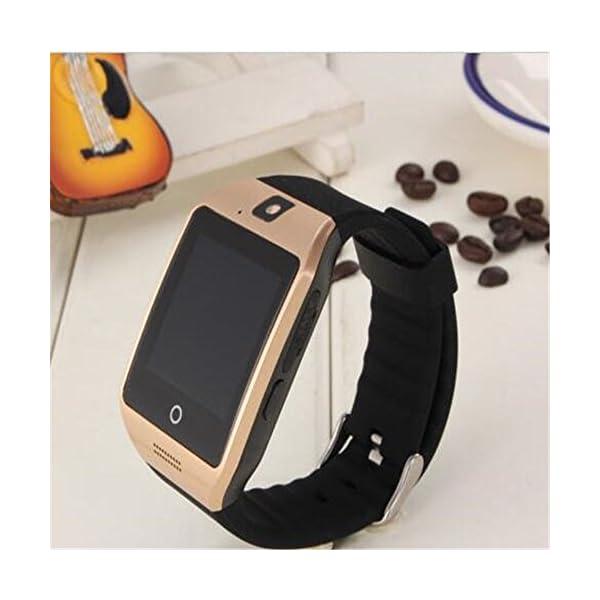 SmartWatch, reloj inteligente Bluetooth Q18 de 1.54 pulgadas, compatible con cámara NFC, tarjeta TF, reloj inteligente… 3