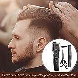 GLOBEAGLE Elektrische Haarschneidemaschine Haarschnitt wiederaufladbare Haarschneider Schneidwerkzeug Set