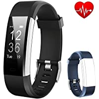 Flenco Fitness Tracker HR Waterproof Activity Tracker Watch Heart Rate Monitor Smart Bracelet Health Sport Watch Pedometer Sleep Tracker Calorie Step Counter For Men Women Ladies Kids iPhone Android