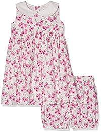 Rachel Riley Rose Peter Pan Collar Dress and Bloomers, Robe Bébé Fille