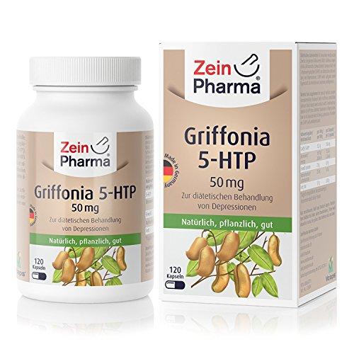 ZeinPharma Griffonia 5-HTP 50 mg 120 Kapseln