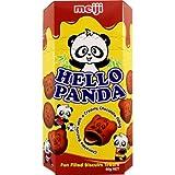Meiji Hello Panda Doppel Schokolade, 5er Pack (5 x 50g)