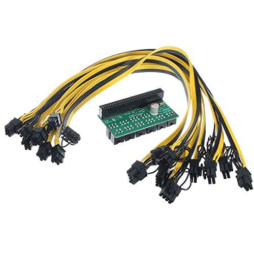 wishfive dps-1200fb Netzteil Adapter Board mit 10PCS 6+ 2P Kabel für ethereum Bergbau