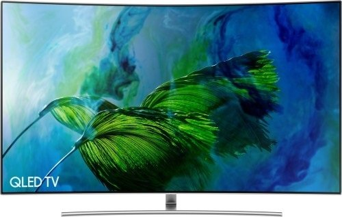 Samsung Q8C 75-Inch 2017 Curved QLED Certified Ultra HD Premium HDR 1500 4K Smart TV - Sterling Silver