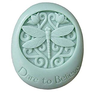 Allforhome Dragonfly Craft Art Silicone Soap mold Craft Molds DIY Handmade soap moulds