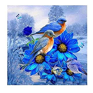 TINGSU DIY 5D Diamond Painting by Number Kits, Canvas Crystal Rhinestone Diamond Embroidery Paintings Pictures Arts Craft for Home Wall Decor Gift (12X12inch / 30X30CM) (C)