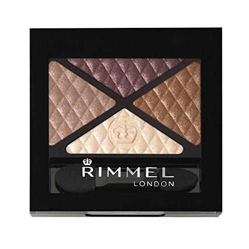 Rimmel London glam' Eyes Eyeshadow Quad - 002 Smokey Braun