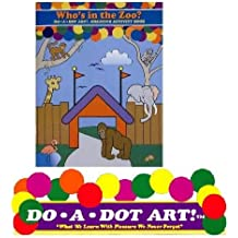 do-a-dot Art who' s in the Zoo Animals Book