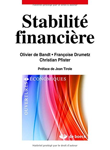 Stabilite financiere crises, instruments et politiques