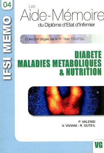 ifsi diabete vol.4 par Valensi