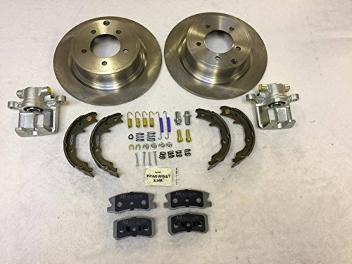 raybestos Carlson Corona NTY freni posteriori Grande Kit di riparazione jeep Compass & Patriot MK 2007-2015302mm dischi